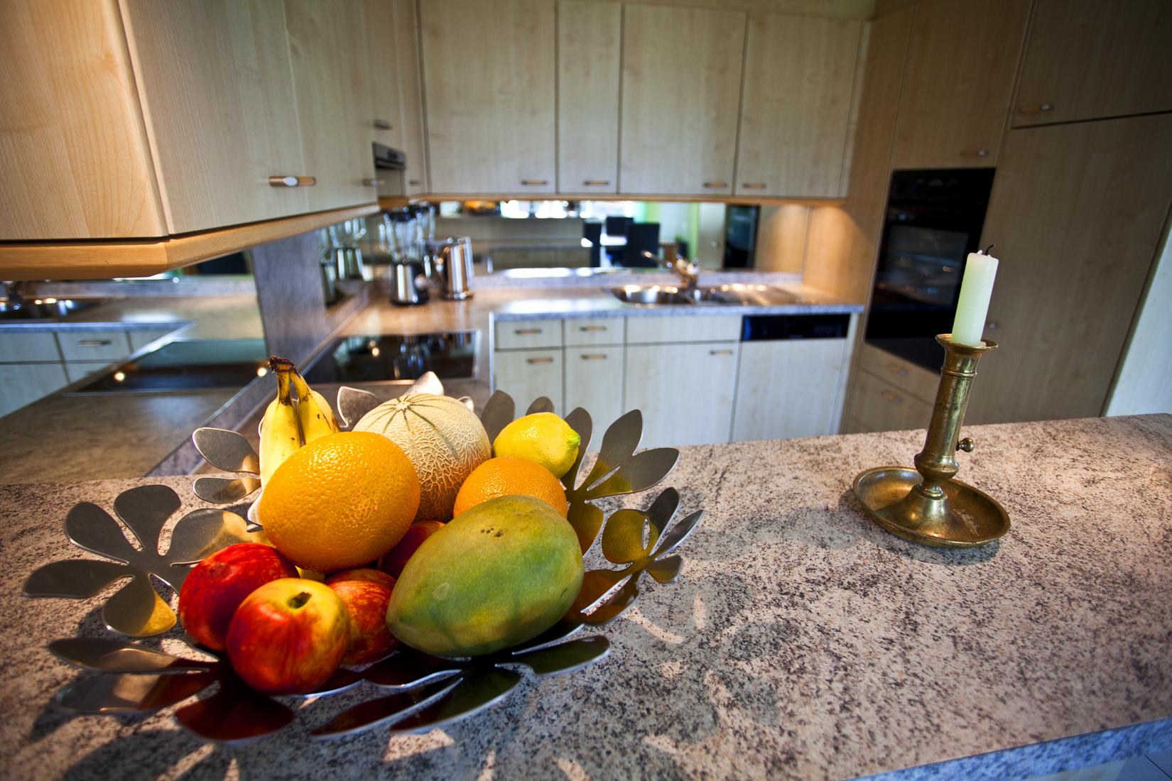 Abdeckung Küche